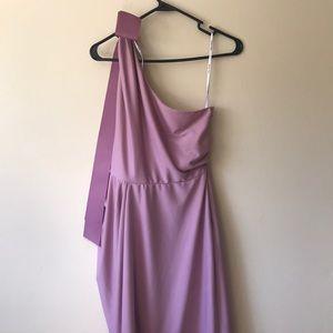 Vera Wang dres size 6 pink/purple